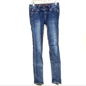 Rock revival Lucille skinny jeans denim 27